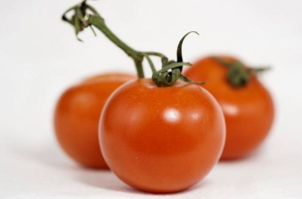 Три красных помидора