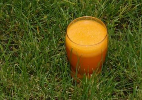 Morkovno-apel'sinovyj sok