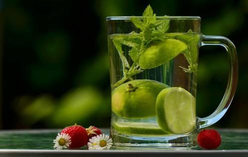 Voda limon mjata dlja pohudenija