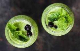 Стаканы капустного сока